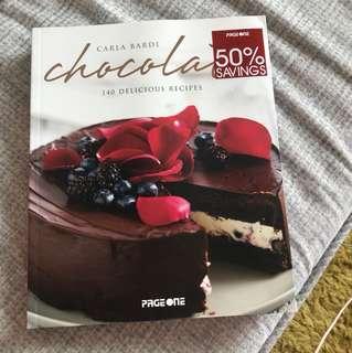 320頁 Carla Bardi Chocolate 甜品食譜(英文版)