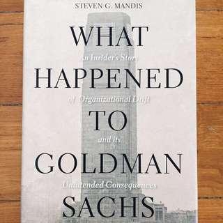 What Happened to Goldman Sachs, Steven Mandis