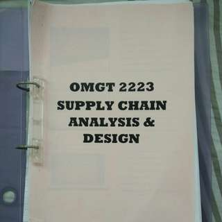 Rmit: Supply Chain Analysis & Design
