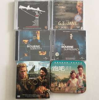 VCD Movies $3 to $8 / title