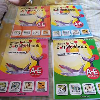 Shichida addition subtraction books