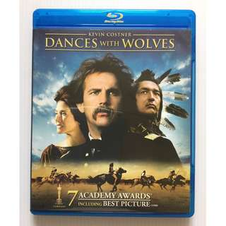 Dances with Wolves Blu Ray