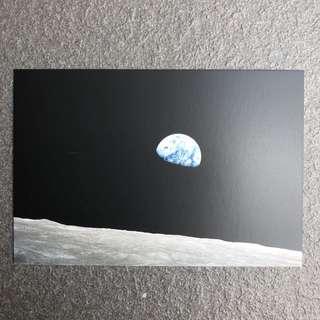 NASA Space Postcard