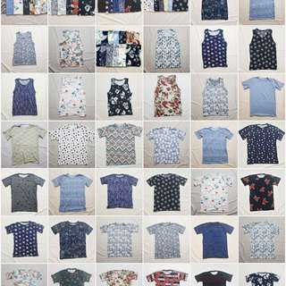[Free Shipping] Tops for HIM!