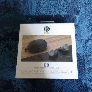 B&O E8 Truly Wireless Earphones