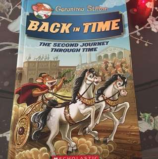 Geronimo Stilton: Back In Time, The Second Journey Through Time