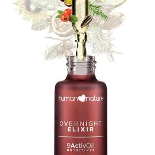 "Overnight Elixir 30ml ""  by HUMAN❤NATURE"