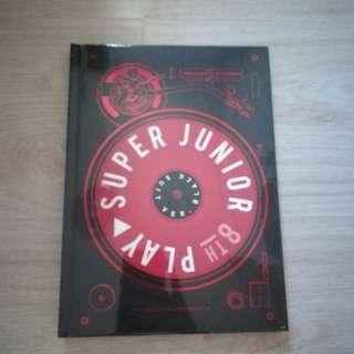 Super Junior Play Black Suit ver
