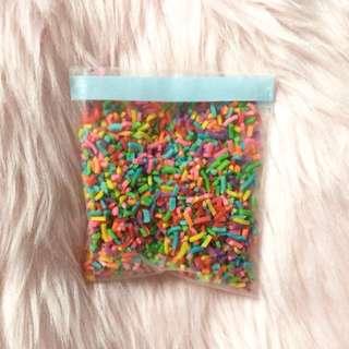 fake sprinkles