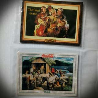 Coca-Cola Trading Cards,Lot #16