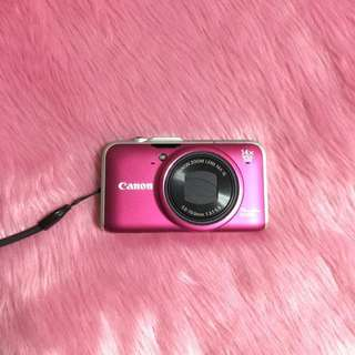 Canon Pink Digital Camera 12.1 Megapixels