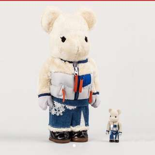 Brand New - Bearbrick Sacai Colette Edition 400% + 100%