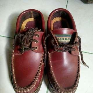Cansas Dakkar Zapato shoes American look original full genuine leather (Kulit)
