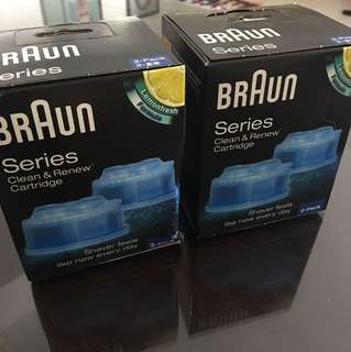 Braun Shaver Clean & Renew Cartridge