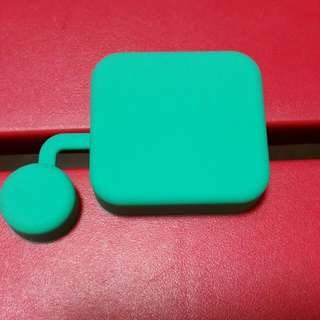 Brand New Silicone Lens Cover for Gopro Hero 4 Standard housing - Green