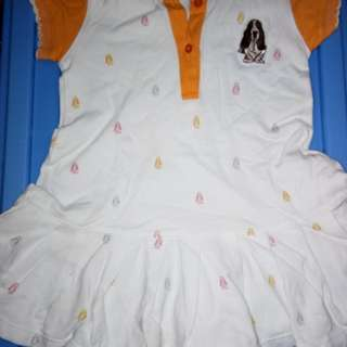 Hush Puppies collared dress for baby girls