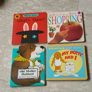 Assorted hard casing story books ($2 each)