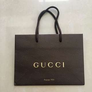 💯 Authentic Gucci Paperbag (Small)