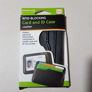 RFID-Blocking Card Case