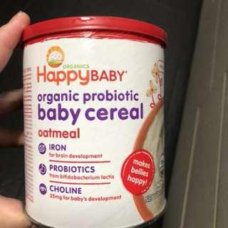 Happy bellies Oatmeal cereals