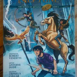 Son of Neptune Graphic Novel