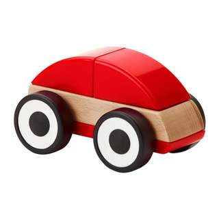 [IKEA] LILLABO Toy Car / Red