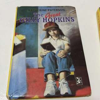 Free postage The Great Gilly Hopkins Hard Cover Book
