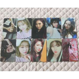 PREORDER - OFFICIAL THE PERFECT RED VELVET ALBUM PHOTOCARD