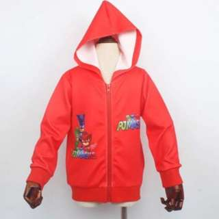Instock 100cm for 3-4yrs pj mask red jacket brand new