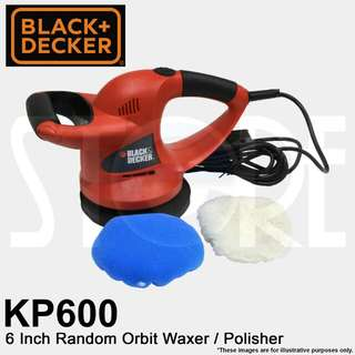 Black & Decker Car Polish Machine KP600