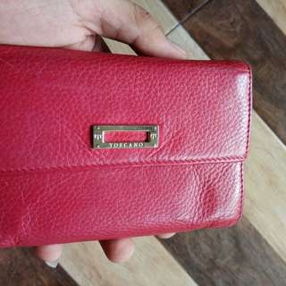 Dompet toscano,leather