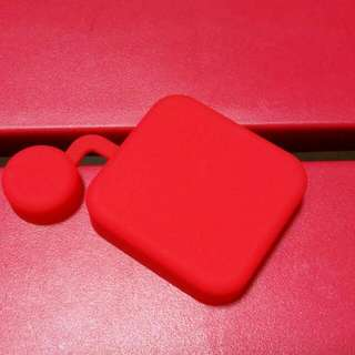 Brand New Silicone Lens Cover for Gopro Hero 4 Standard housing - Red