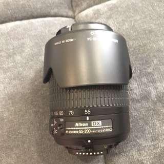 Nikon 55-200mm AF-S DX ZOOM