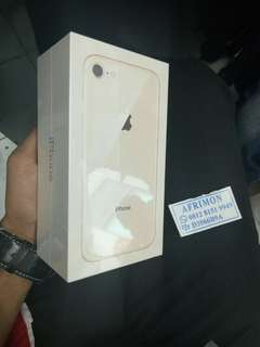 Kredit Iphone 8 Gold 64- New Internasional