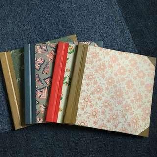 Scrapbook and photo album