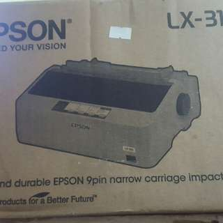 Brand new Epson LX 310 dot matrix