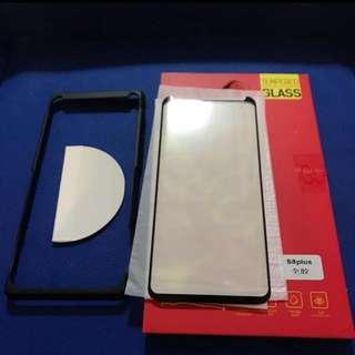 🔥全屏全粘著Samsung s8+ 弧邊鋼化玻璃保護貼