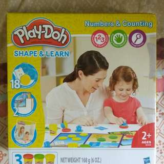 Play-doh Shape and Learn