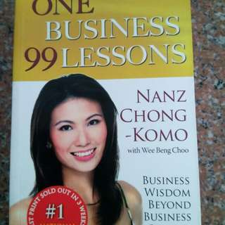 One Business 99 Lessons (Nanz Chong)