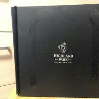 Highland park 酒杯一套 $300