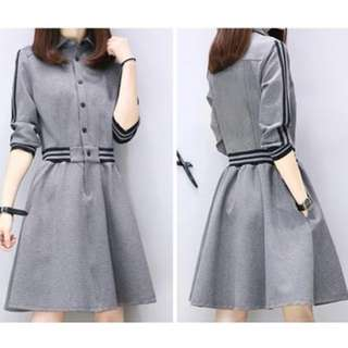 Brand new elegant Grey Dress