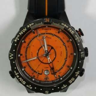 Authentic fullset timex expedition tide compass temp