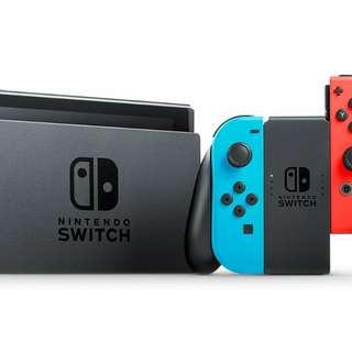 Switch 全新行