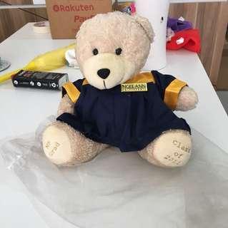 Ngee Ann poly Graduation Bear