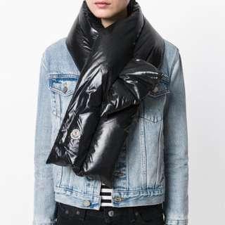 原裝正貨!Moncler保暖時尚羽絨頸巾