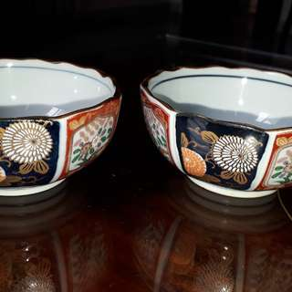 vintage mid 1900s bowl with potter mark sale as individual only  /No dealer's
