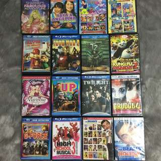 CD, DVD's For Sale