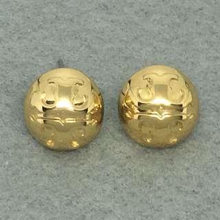 Tory Burch Sample Earrings 金色經典圓形耳環
