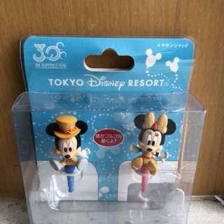 Disney Phone Accessories 迪士尼 耳筒防塵塞