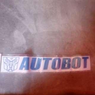 Sticker Autobot